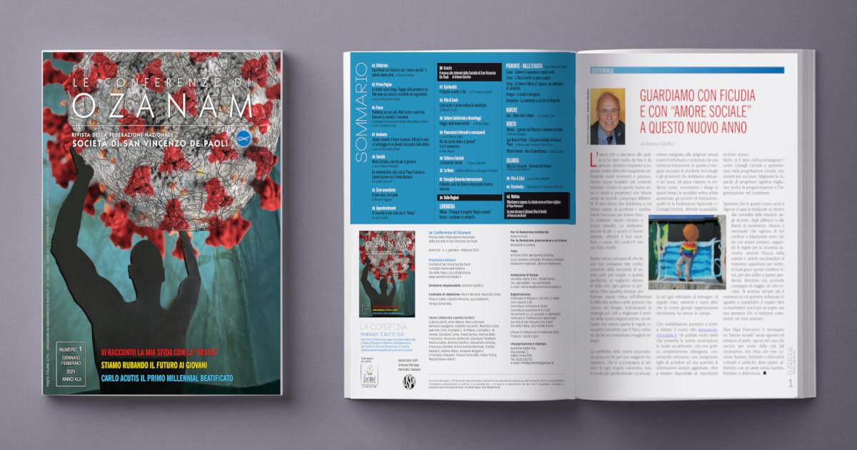 E' online il nuovo numero della rivista Le Conferenze di Ozanam