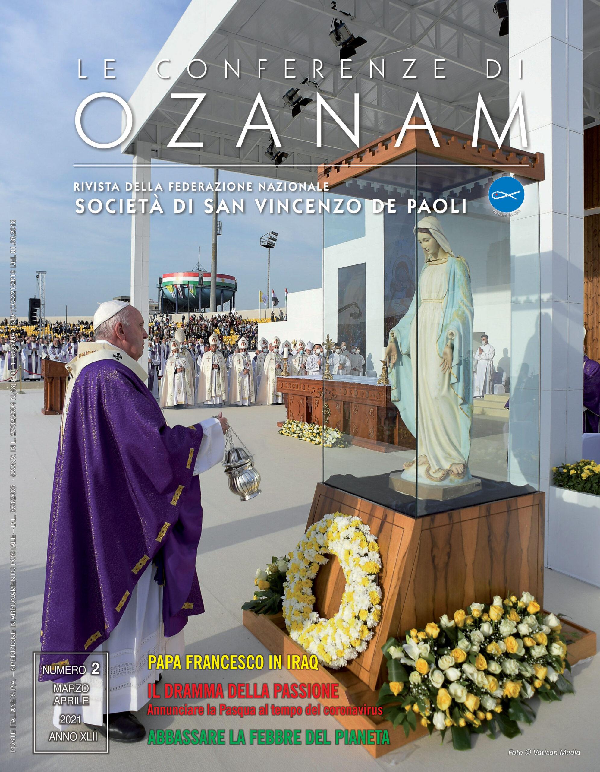 Rivista Le Conferenze di Ozanam marzo-Aprile 2021